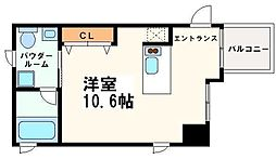 KWレジデンス堺筋本町[3階]の間取り