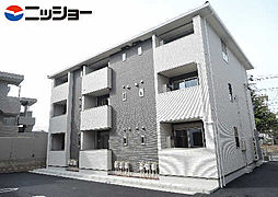 愛知県名古屋市緑区作の山町の賃貸アパートの外観