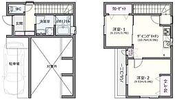 [一戸建] 神奈川県横浜市西区久保町 の賃貸【/】の間取り