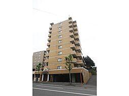 北海道札幌市豊平区平岸一条13丁目の賃貸マンションの外観