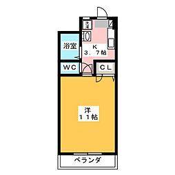 メゾン清里[2階]の間取り