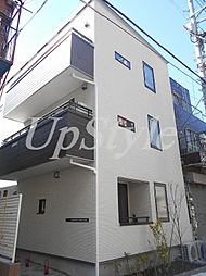 東京都台東区千束3丁目の賃貸アパートの外観