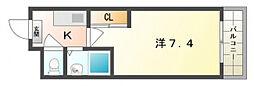 LOTUS R33[3階]の間取り