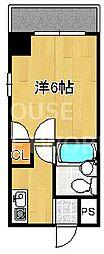 レ・タン・ドゥ・ラ・メールCK V[201号室号室]の間取り