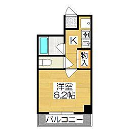 レ・タン・ドゥ・ラ・メールCKII[3階]の間取り