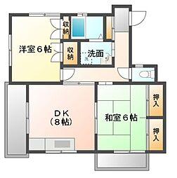 第3ドリーム藤[2階]の間取り