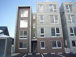 北海道札幌市白石区南郷通10丁目南の賃貸マンションの外観