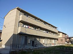 愛知県名古屋市中川区万場5丁目の賃貸アパートの外観