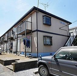 埼玉県春日部市西金野井の賃貸アパートの外観