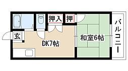 愛知県名古屋市緑区潮見が丘1丁目の賃貸マンションの間取り