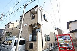 愛知県名古屋市守山区西新の賃貸アパートの外観