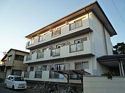 京都府京都市北区衣笠街道町の賃貸マンションの外観