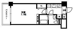 ラクラス新大阪[4階]の間取り