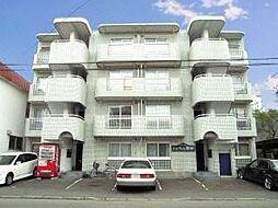 北海道札幌市白石区南郷通8丁目北の賃貸マンションの外観