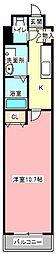小倉ビルディング[4階]の間取り