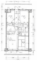 クリオ二俣川弐番館[405号室]の間取り