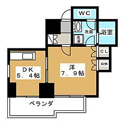 桂山サコウハイツYON[3階]の間取り