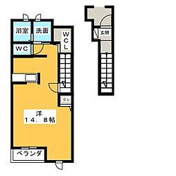 プリムローズI[2階]の間取り