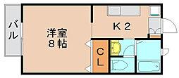 プラネット吉塚[1階]の間取り