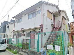 兵庫県宝塚市御殿山2丁目の賃貸アパートの外観