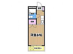 エスポアールタケオ[1階]の間取り