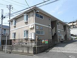 神奈川県横浜市港北区高田西5丁目の賃貸アパートの外観