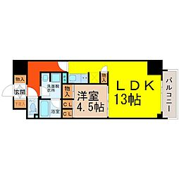 CORNESHOUSENAGOYA(コーンズハウスナゴヤ)[8階]の間取り