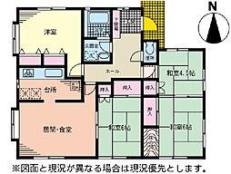 [一戸建] 神奈川県大和市福田 の賃貸【/】の間取り