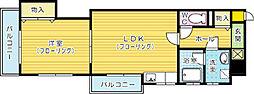 KSK嵐山コアビル[302号室]の間取り