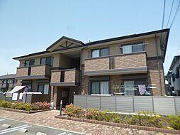 大阪府羽曳野市樫山の賃貸アパートの外観
