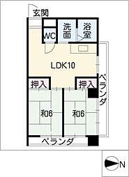第3泰水堂ビル[5階]の間取り
