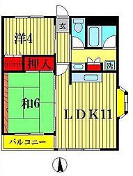 サンライトシーマ[3階]の間取り