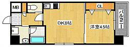 DiasII 鶴見6丁目新築[804号室号室]の間取り