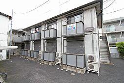 埼玉県川口市南鳩ケ谷5丁目の賃貸アパートの外観