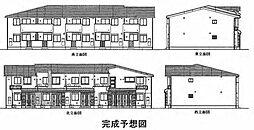 愛知県北名古屋市弥勒寺東4丁目の賃貸アパートの外観