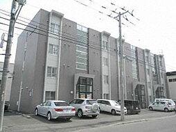 北海道札幌市北区北二十八条西10丁目の賃貸マンションの外観