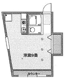 ストレッチ西落合[3階]の間取り