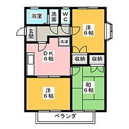 ハイムパディ[2階]の間取り