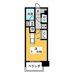 アデグランツ大須[8階]の間取り