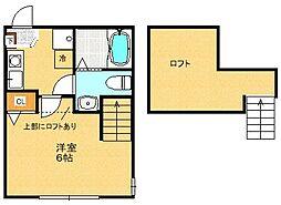 N-Flat[105号室]の間取り
