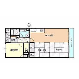 浜松アーバンヒルズ(102)[2階]の間取り