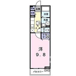 アルカディア3[1階]の間取り