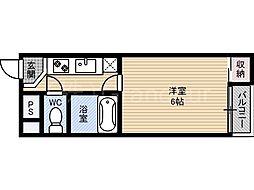 ライフステージ桜宮[3階]の間取り