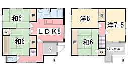 [一戸建] 兵庫県加古川市神野町福留 の賃貸【/】の間取り