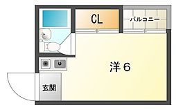 ビックバーンマンション[4階]の間取り