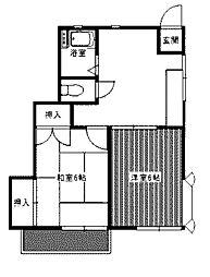 メゾン・ド・ハル[1階]の間取り