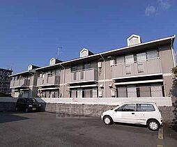 京都府京都市西京区上桂東ノ口町の賃貸アパートの外観