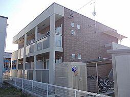 長野県長野市中御所2丁目の賃貸アパートの外観