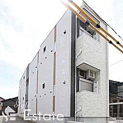 愛知県名古屋市昭和区菊園町2丁目の賃貸アパートの外観