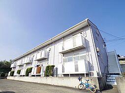 東京都東村山市廻田町3丁目の賃貸アパートの外観